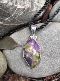 "Remarkable Tasmanian ""Serpentine/Stitchtite Stone Pendant    #RST"